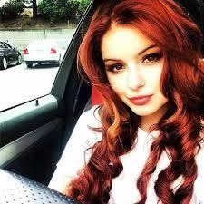 Bilderesultat for natural red hair