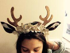 Brown Eyed Doe. #Deer #Antlers #DIY #Costume