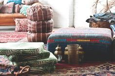 A large variety of bohemian goods at the studio these days! | Patina