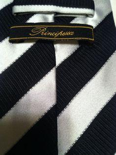 NEW Princirissa Striped 100% Silk Multi Color Classic Mens Neck Tie  #Princirissa #NeckTie