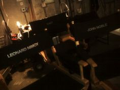 First day on set for Ari shooting in lab with Leonard Nimoy and John Nobel. Season 2.