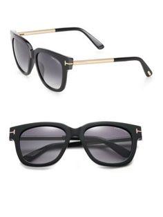 97cbd59094a TOM FORD EYEWEAR Square Acetate   Metal Sunglasses.  tomfordeyewear   sunglasses