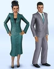 Mod The Sims - Estate Agent Career Sims 3 Mods, Career, Real Estate, Formal, Style, Fashion, Preppy, Swag, Moda