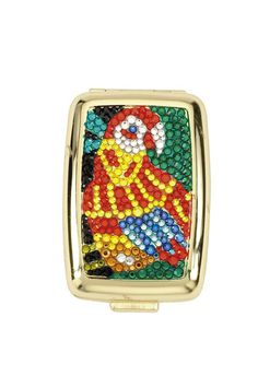 JCBling - Swarovski Crystal Pill Box In Parrot Design by Jimmy Crystal. Style