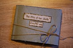 THE story of two idiots photo album scrapbook