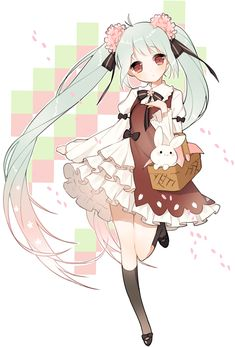 Cute and pastel-  Miku Hatsune~☆