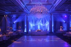 Salon Le Versailles @ Le Windsor Ballrooms Montreal. This was a beautiful winter wedding in 2011!
