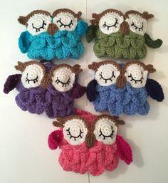 Crocheted Owl Coffee/Tea Mug/ Cup Cozy Video Tutorial