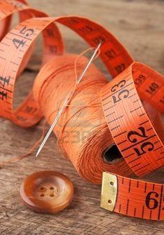 Color Naranja - Orange!!! measuring tape in a beautiful bright orange