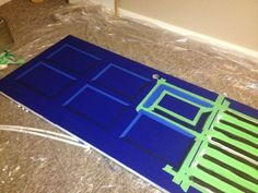 doctor who bedroom door instructions - cool shading!