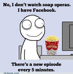 Life is a soap opera :-)