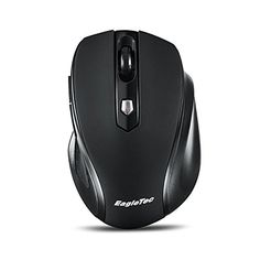 Intelligence Wireless Mouse,Portable Computer Mice for PC Tablet Laptop with Windows SystemHyper-Fast Scrolling,Rechargeable,Black,Blue,Red,Gray 1, Red