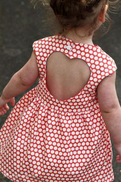 Sweetheart Dress Sewing PDF PATTERN for Girls 2T-6T on Etsy, $9.95