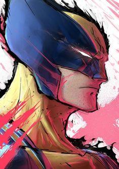 Marvel Wolverine, Wolverine Cartoon, Logan Wolverine, Marvel Comics Art, Marvel Vs, Marvel Heroes, Wolverine Images, Gambit Wallpaper, Marvel Wallpaper