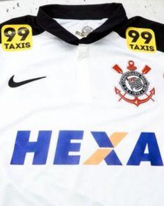 Camisa do Corinthians no jogo de domingo (Foto  Divulgação) 7058da7398ed7