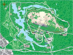 Stone Mountain Park - Interactive Park Map