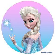 Stickers Elsa y Anna FROZEN   -Tu sitio de Frozen -