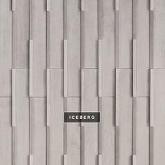 the duality of inverted angles *Please allow weeks lead time 3d Texture, Tiles Texture, Floor Patterns, Wall Patterns, Wall Panel Design, La Rive, Wall Cladding, Wall Treatments, Interior Walls