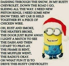 Funny Christmas Quotes Hilarious Songs 48 Ideas For 2019 Funny Christmas Songs, Funny Christmas Pictures, Christmas Poems, Christmas Humor, Funny Pictures, Christmas Jingles, Minion Pictures, Christmas Stuff, Christmas Cookies