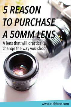 Are you ready to take your photography to the next level? I'm sharing 5 reasons to purchase a 50mm lens and it being the first lens I bought 5 years ago, it drastically changed the way I shot. Stop by to learn 5 reasons why you should give the 50mm lens a try and for more photography tips!