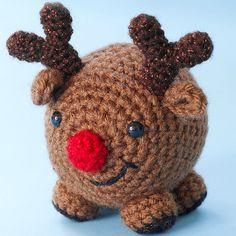 Amigurumi Rudolph the Reindeer