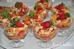 denenmiş resimli yemek tarifleri: Ballı Meyve Salatası