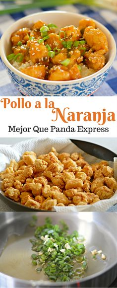 Si te gusta comida china, entonces te encantara este pollo a la naranja que… - Recipes, tips and everything related to cooking for any level of chef. I Love Food, Good Food, Yummy Food, Tasty, Comida Diy, Asian Recipes, Healthy Recipes, Chinese Food Recipes Chicken, China Food