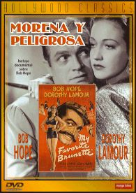 Morena y peligrosa (1947) EEUU. Dir: Elliot Nugent. Comedia. Romance. Suspense - DVD CINE 384