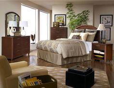 Beaumont Bedroom (via @CORT Furniture)