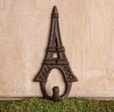Amazon.com: Iron Eiffel Tower Paris Key Wall Hook: Home Improvement