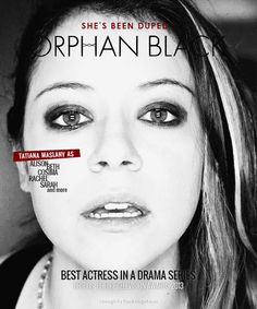 Orphan Black - Why Tatiana Maslany Should Be On Your Radar Head Makeup Artist: CMU Instructor Stephen Lynch Top Tv Shows, Best Tv Shows, Best Shows Ever, Favorite Tv Shows, Movies And Tv Shows, Orphan Black, Sarah Manning, Tatiana Maslany, Bbc America