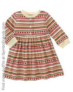 398784bdfc Gymboree Mountain Cabin - Heart Stripe Dress