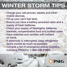 Storm tips