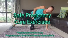Safe Pregnancy Core Exercises - - Should you train your CORE during Pregnancy? Is a FAQ from new fans and mums who I see at my workshops. Absolutely, of course, you should improve your core strength and function during pregnancy as it. Pregnancy Abs, Pregnancy Workout Videos, Exercise During Pregnancy, Prenatal Workout, Prenatal Yoga, Pregnancy Diary, Back Strengthening Exercises, Core Strength Exercises, Strength Workout