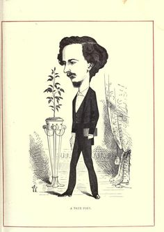 Cartoon Portraits of Leading 19th Century Figures (1873) | The Public Domain Review