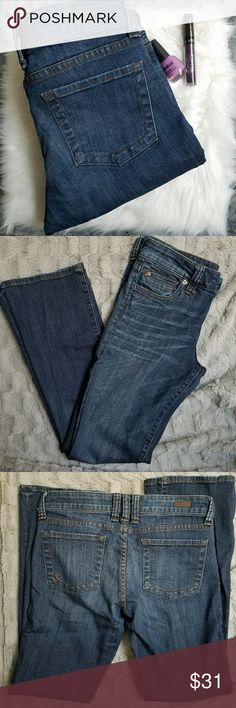 Kut from the Kloth Natalie High Rise Bootcut Jeans Excellent used condition jeans by kut from the Kloth. Natalie High Rise Bootcut style and size 6. Inseam is 30.5 inches, rise is 8.5 inches, and waist is 16 inches. (A81) Kut from the Kloth Jeans Boot Cut