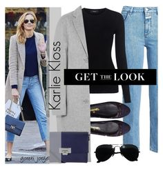 """Karlie Kloss"" by goreti ❤ liked on Polyvore featuring Closed, Theory, Chanel, Acne Studios, Lodis, Ray-Ban, StreetStyle and CelebrityStyle"