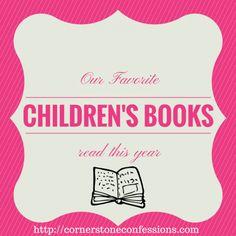 Favorite Children's Books Read This Year