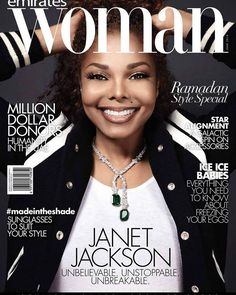 Janet Jackson  Emirates Woman / June 2016 Photo by: Louis Christopher
