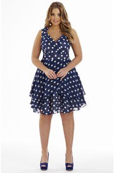 Multi Layer Sirt Dress | Plus Size Dresses - Dream Diva