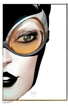 Catwoman, by Greg Capullo. Capullo rose to the challenge laid down by DC Comics to draw Batman and h Batman 1, Batman And Catwoman, Superman, Catwoman Comic, Gotham Batman, Batman Robin, Comic Book Characters, Comic Character, Comic Books Art