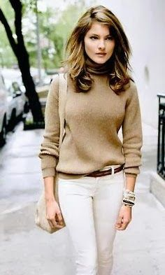 Beautiful and Comfortable Winter Outfit