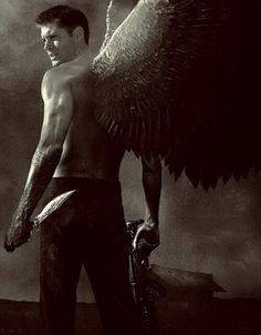 Dean Winchester as an Angel? Yum.
