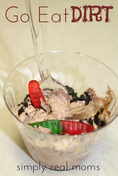 Best dirt recipe out there! Your kids will love making and eating dirt! EWWW!