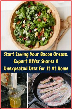 #Start #Saving #Bacon #Grease #Expert #DIYer #Shares #Unexpected #Uses #Home Angelina Jolie Style, Winter Fashion Outfits, Grease, Bacon, Vintage Outfits, Tiny Necklace, Lace Necklace, Meals, Grandparents