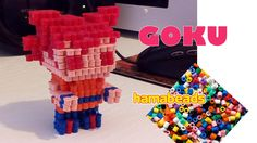 Goku Dragonball how to assembly 3D Perler Hama Beads Artkal