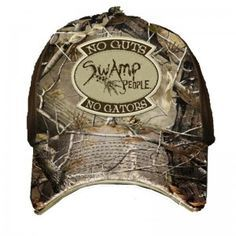 aqwesome camo hats | Camo hat,featuring the saying No Guts No Gators swamp people hat