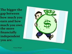 Larry Winget Quote - financial independence