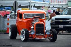 Hot rod orange