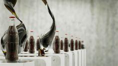 Dancing Coca-Cola Bottles by Korb